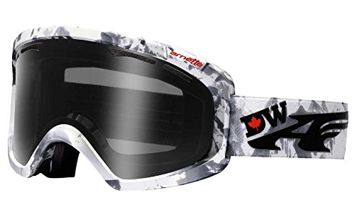 ARNETTE WINDSHIELD SNOW GOGGLES AN5007 FOR SKIING AND SNOWBOARDING (Devun Signature w/ Dark Grey - Arnette Goggles Ski