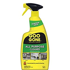 Goo Gone All-Purpose Cleaner - 32 Ounce - Removes Dirt, Grease, Grime, Multi Surface, Multi Purpose, De-Greaser, Cleaning Spray