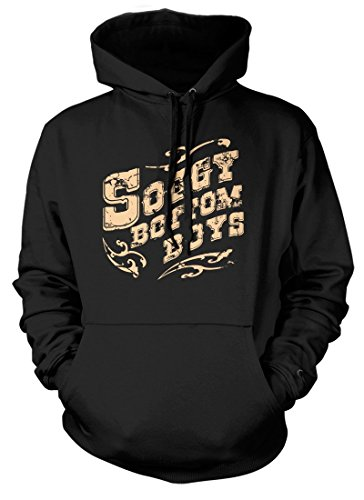 BathroomWall O Brother Where Art Thou Inspired Soggy Bottom Boys, Hoodie, XX Large, Black