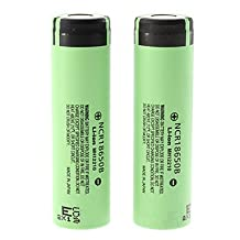 3.7v 3400mAh 18650 Protected Li-ion (NCR18650B Inside) Rechargeable Battery