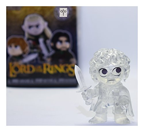 Funko Mystery Minis - Lord of the Rings - Frodo Baggins [Invisible] - Barnes & Nobles Exclusive [RARE!] Frodo Baggins Lord Of The Rings