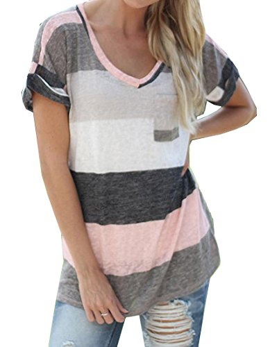 Generic Womens Casual Pocket Sleeve