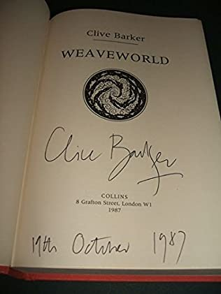 book cover of Weaveworld