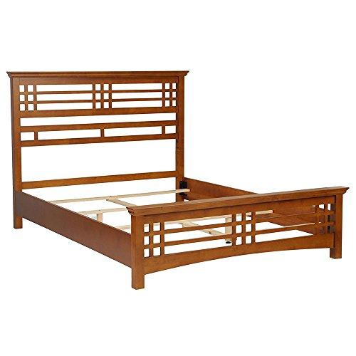 Avery Slat Bed Size: Full (King Oak Bed Poster Size)
