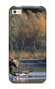 New Premium ITSRQzF8985KCSnA Case Cover For Iphone 5c/ Bear Protective Case Cover