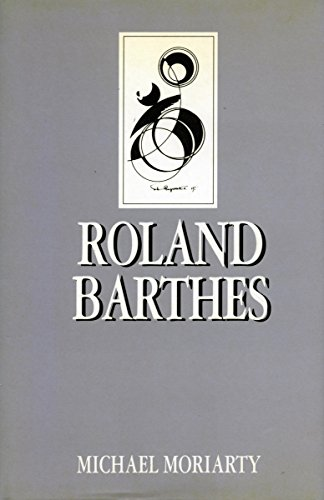 Roland Barthes (Key Contemporary Thinkers)