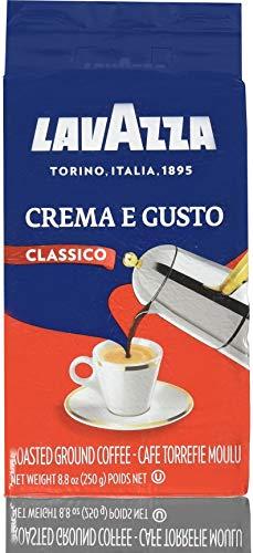 Purple Milk Chocolate - LavAzza Crema e Gusto Ground Coffee 8.80 oz (Pack of 8)