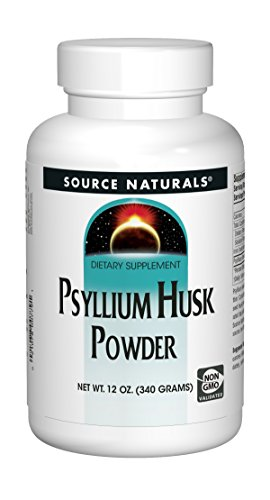 Source Naturals: Psyllium Husk Powder, 12 oz (Pack of 4)