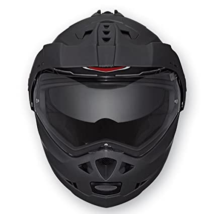 Amazon.es: Caberg Tourmax - Casco de moto integral modular, color negro opaco M negro mate