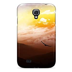 Flight At Sunset Case Compatible With Galaxy S4/ Hot Protection Case