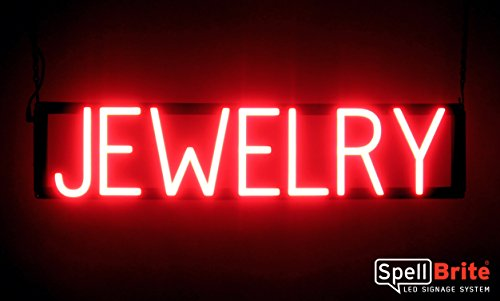 SpellBrite Ultra-Bright JEWELRY Sign Neon-LED Sign (Neon look, LED performance) - Landmark Diamond Ring