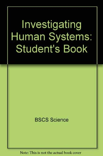 Investigating Human Systems: Student's Book