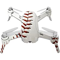 Skin For Yuneec Breeze 4K Drone – Baseball | MightySkins Protective, Durable, and Unique Vinyl Decal wrap cover | Easy To Apply, Remove, and Change Styles | Made in the USA