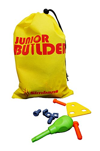 [Bonus Bag] Simbans JB 148 pcs 5-in-1 Build and Play Toy Set | Kids STEM Educational DIY Building Kit for 8, 9, 10 Year Old Boys, Girls | 5, 6, 7 yr Old can Build with Help | Best Creative Fun Gift