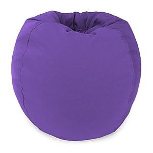 Jordan Manufacturing Jr. Bean Bag Solid Lavender