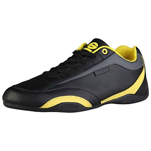 Sparco, Herren Sneaker Schwarz / Gelb