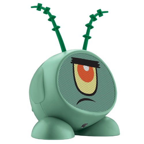 Nickelodeon Plankton Rechargeable Speaker for MP3 Players, , SB-M66P