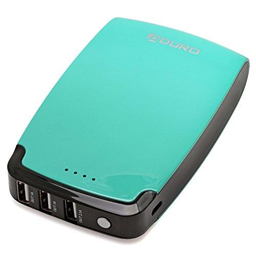 Aduro 11000mAh Simultaneous Smartphones Turquoise