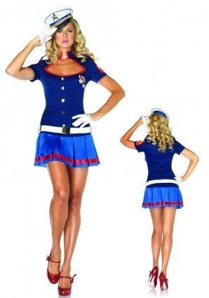 Leg Avenue Semper Fi Fancy Dress Costume - Small/Medium size by Leg (Costume Fi)