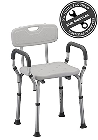 Medical Tool-free Spa Bathtub Shower Lift Chair, Portable Bath Seat, Adjustable Shower Bench, White Bathtub Lift Chair with - Free Lift Chairs