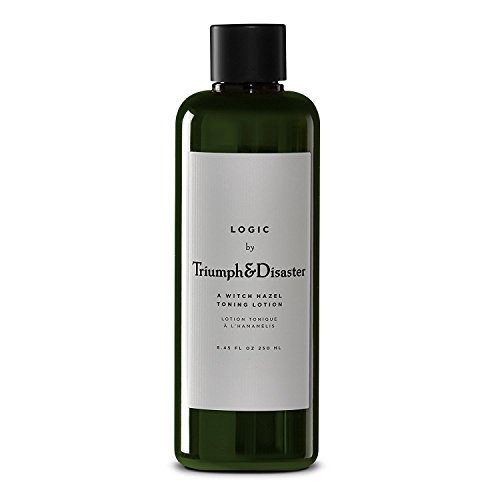 TRIUMPH & DISASTER Logic Facial Toning Lotion Free Natural Face Toner 250ml Witch Hazel and Natural Extract Facial Cleanser Wash