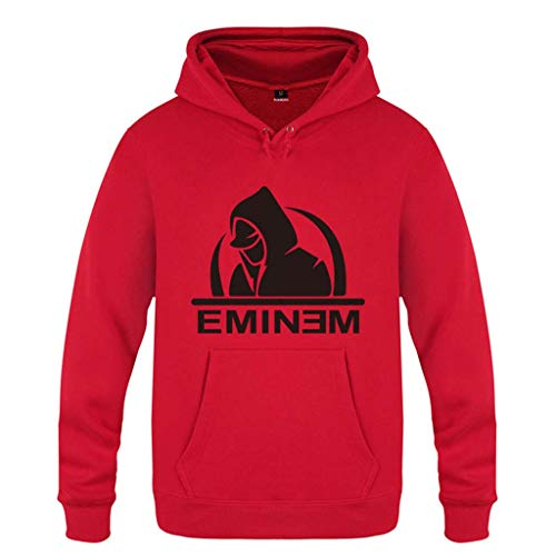Pour Garçons Slim shirt T Unisexe Mchooded Survêtement Classique Veste rouge Sweat Shady Eminem Orchestra Rap Sweatshirt Hommes Black Les Et AzAqEwO