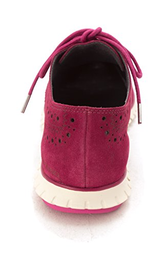 Cole up CH1981S Beet Red Low Fashion Lace Sneakers Suede Haan Womens Top rxYqw6Erg