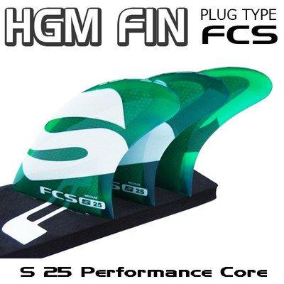 FCS サーフィン フィン S25 B01NCK6HEP