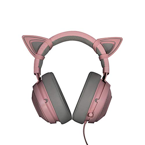 (Docooler Kitty Ears for Razer Kraken Headset Accessory Razer)