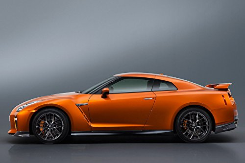 Nissan Gt-R New 2017 Car Poster various sizes