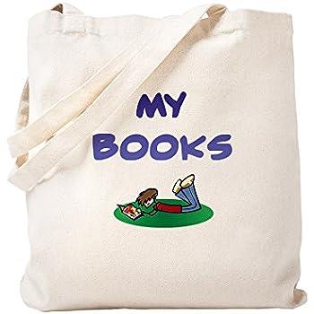 CafePress - Book Bag For Boys - Natural Canvas Tote Bag, Cloth Shopping Bag