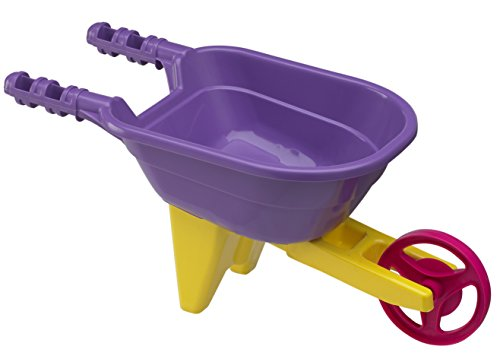 American Plastic Toy Wheelbarrow (Colors may vary)