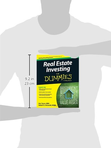 41x6RCNbHFL - Real Estate Investing For Dummies