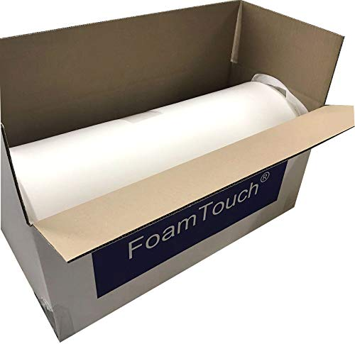 "FoamTouch Upholstery Cushion High Density Standard, Seat Replacement, Sheet, Padding, 3"" L x 24"" W x 72"" H"