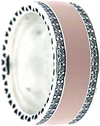 anello pandora fascia rosa