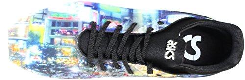 Asics Mænds Gel Kayano Træner Retro Sneaker Sort FIt3M