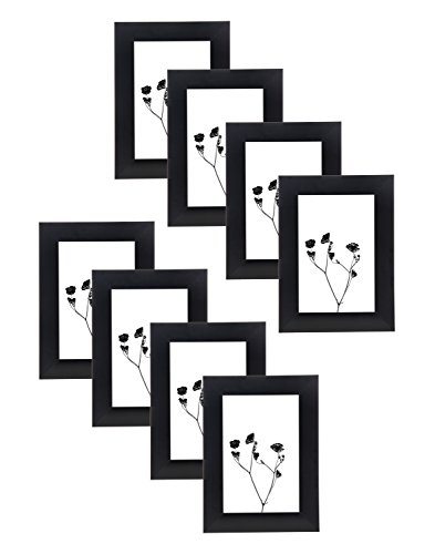 Godinger 4x6 Picture Frame - Set Of 8 (Pewter Triangle Stand)