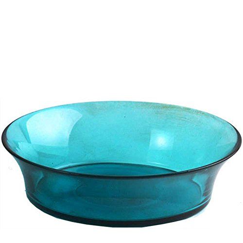 Couronne Company 7436G09 Cuban Recycled Glass Bowl, 7 3/4
