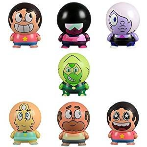 (Steven Universe Buildables Complete Set of 7 pcs - featuring Steven, Garnet, Amethyst, Pearl, Greg Universe and)