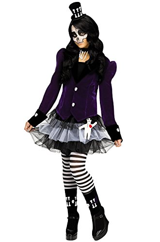 Fun World Girl's Voodoo Dolly Costume (8-10)