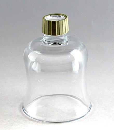 Peg Votive Holder - Clear Tulip Shape Set of 2 (Candle Glass Tulip)