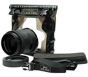 DiCAPac Waterproof Case for Nikon D40, D60, D90, D3000, D300S, D5000, Underwater Hous. by DiCAPac