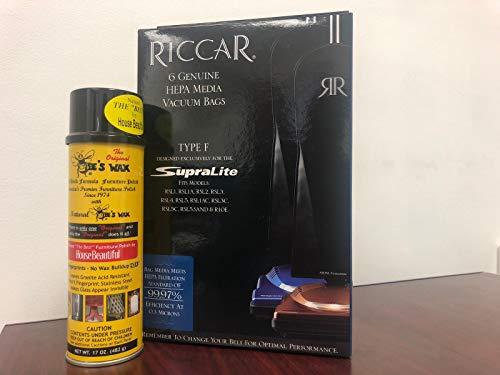 Riccar RFH or Simplicity SFH & 1 Original Beeswax Polish