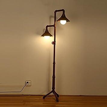 Gutou Ldd Lampe Sur Pied De Salon Lampadaire Vintage Lampadaire