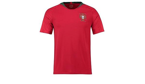 Camiseta de Fútbol Portugal 201 Jersey Home Cup Away Jersey: Amazon.es: Deportes y aire libre