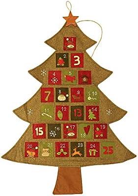 Weihnachtskalender Tannenbaum.Da Wa 1 Stück Adventskalender Zum Befüllen Adventskalender