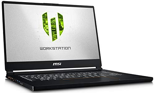 "MSI WS65 9TJ-003 (i7-9750H, 32GB RAM, 512GB NVMe SSD, NVIDIA Quadro T2000 4GB, 15.6"" Full HD, Windows 10 Pro) Workstation Laptop"