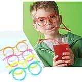 نظارات سمارت نوفلتي من البلاستيك الناعم قابلة لإعادة الاستخدام وأنبوب شرب من أنبوب شرب للنظارات الطبية للأطفال في حفلات…