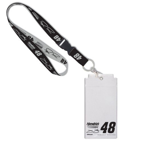 NASCAR Credential Holder with Break Away Lanyard (Jimmie Johnson, - Jimmie Johnson Lanyard