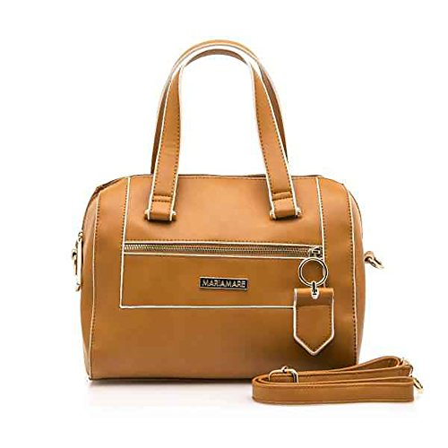 Maria Medium Leather Handle Size Double With Bag Mare r6qXr